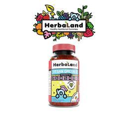 Żelki VEGAN OMEGA 3 dla dzieci Herbaland -8289