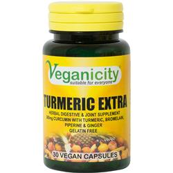 Kurkuma Extra 30 tab. Veganicity