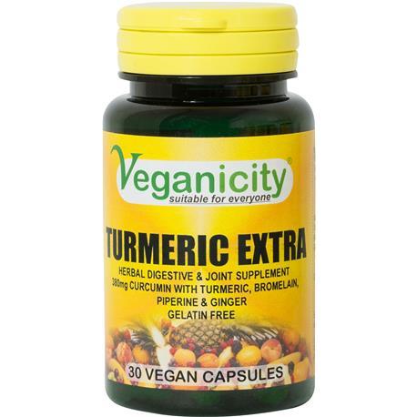Kurkuma Extra 30 tab. Veganicity-8329