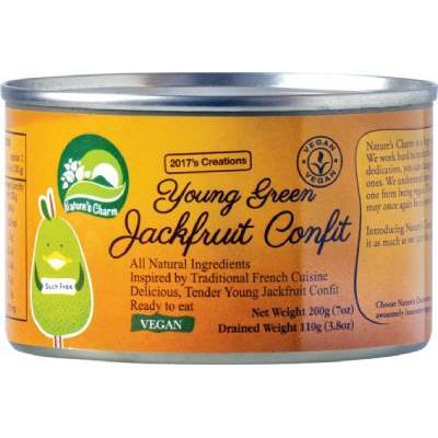 Jackfruit młody chlebowiec w oliwie 200g Natures C-8347