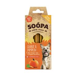 Dental Stick Carrot Pumpkin 100g SOOPA-8392