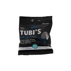 Lukrecjowe żelki słone Tubi's 100g-8401