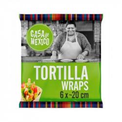 Wrap pszenny 20cm 6szt. 240g CasaDeMexico