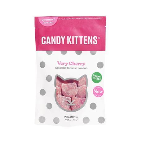 Żelki kotki WIŚNIOWE 125g Candy Kittens-8549
