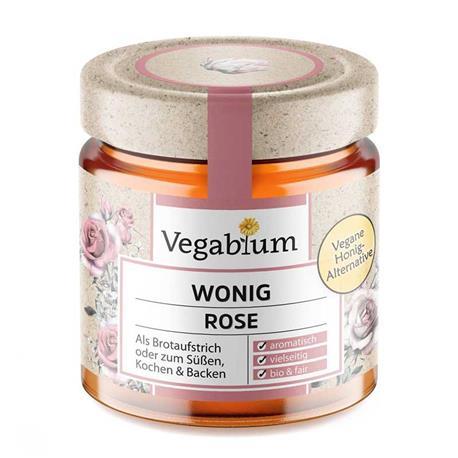 Miód wegański z róży 225g Vegablum-8614