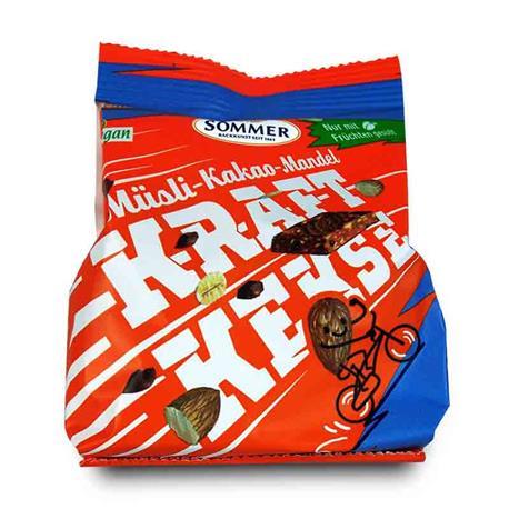 Ciastka orkiszowe musli kakao-migdał 80g Kraft-8640