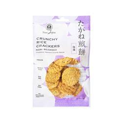 Krakersy ryżowe z wodorostami Nori 50 g MUSO-8659