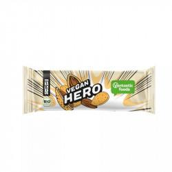 Batonik Vegan Hero z migdałami 40g Schakalode