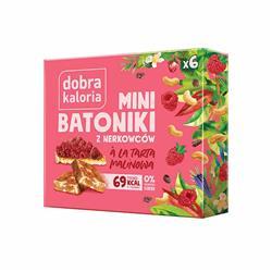 Mini batoniki ala tarta malinowa z nerkowców 102g -8834