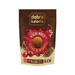 Kulki mocy kakao z wiśnią 58g Dobra Kaloria-8837