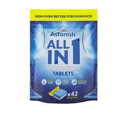 5w1 tabletki do zmywarki Astonish 42 szt.