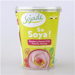 Jogurt sojowy malina marakuja 400g Sojade