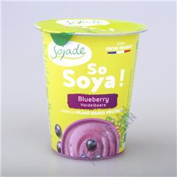 Jogurt sojowy borówkowy 125g Sojade