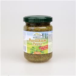 Pesto z bazylii 125g bio-verde