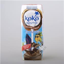 Napój kokosowo-czekoladowy z wapniem 250ml Koko
