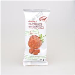 Suszone plasterki truskawki 10g Crispy Natural