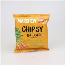 Chipsy marchew na ostro 18g Crispy Natural