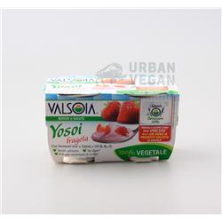 Jogurt sojowy truskawka 2x125g Valsoia