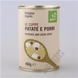 Zupa z ziemniaków i pora 400g BIO Ecor