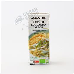 Śmietana ryżowa 200ml Amandin