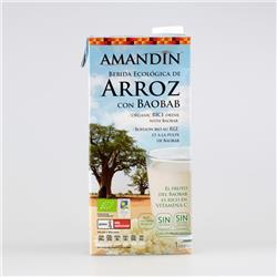 Napój ryżowy baobab 1l Amandin