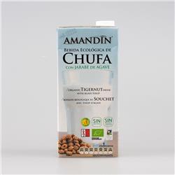 Napój z orzechów tygrysich z agawą 1l  Amandin